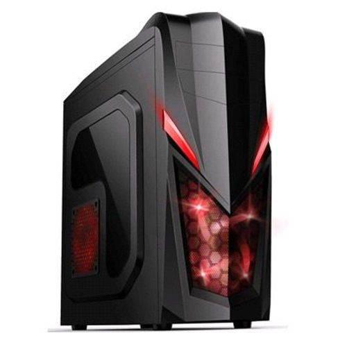Tudo sobre 'Gabinete Gamer Pc Atx New Shark Cooler Led Vermelho USB 3.0 MCA-FC-E29A Mymax'