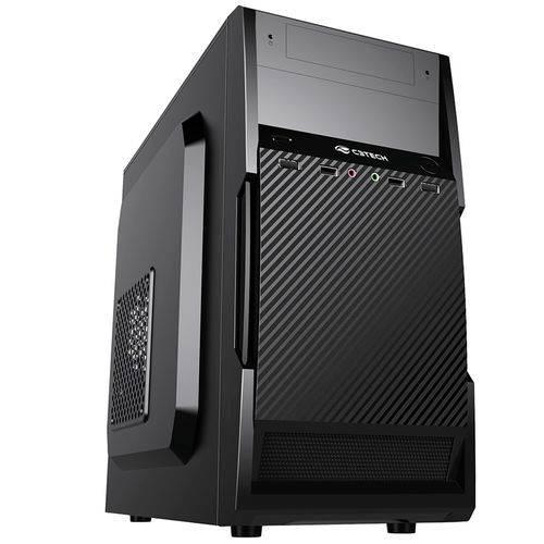 Tudo sobre 'Gabinete PC Micro ATX MT-25BK 2 Baias Sem Fonte C3Tech'