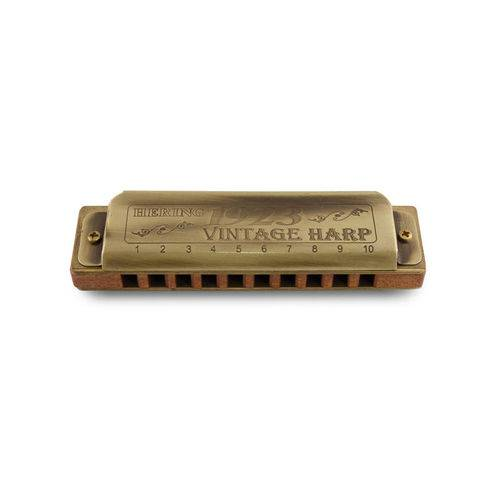Tudo sobre 'Gaita Hering Vintage Harp 1020 D'