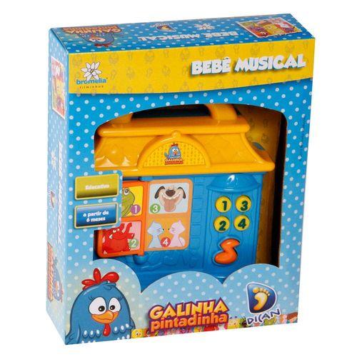 Galinha Pintadinha Bebe Musical Lll Dican - 1303
