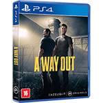 Tudo sobre 'Game a Way Out - PS4'