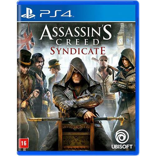 Tudo sobre 'Game Assassins Creed Syndicate - PS4'