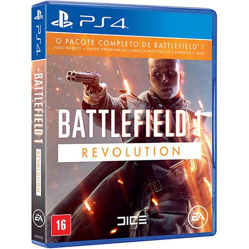Tudo sobre 'Game Battlefield Revolution - PS4'