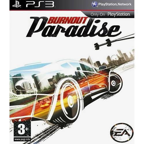 Tudo sobre 'Game Burnout Paradise - PS3'