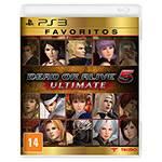 Tudo sobre 'Game - Dead Or Alive 5 Ultimate - Favoritos - PS3'