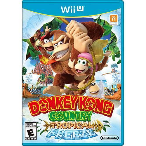 Tudo sobre 'Game - Donkey Kong Country: Tropical Freeze - Wii U'