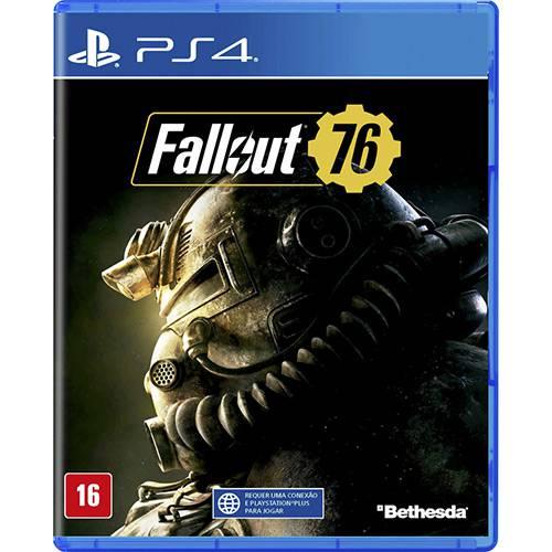 Tudo sobre 'Game Fallout 76 - PS4'