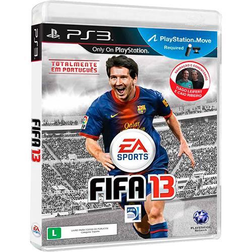 Tudo sobre 'Game Fifa 13 - PS3'