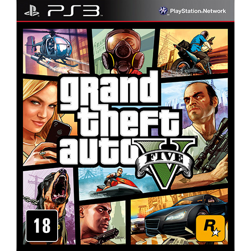 Tudo sobre 'Game Grand Theft Auto V - PS3'