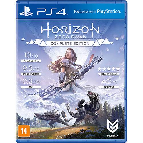 Tudo sobre 'Game Horizon Zero Dawn Complete Edition - PS4'