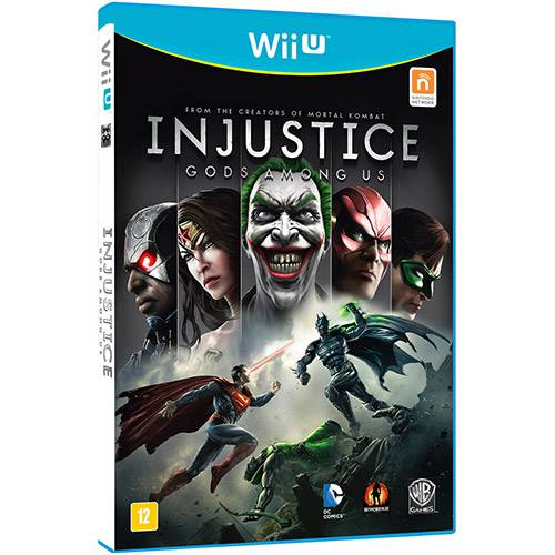 Tudo sobre 'Game Injustice: Gods Amongus - Wii U'