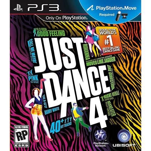Tudo sobre 'Game Just Dance 4 - PS3'