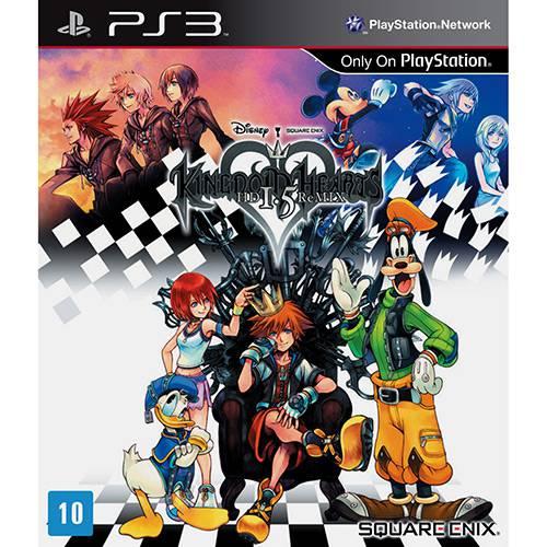 Tudo sobre 'Game - Kingdom Hearts Hd 1.5 Remix - PS3'