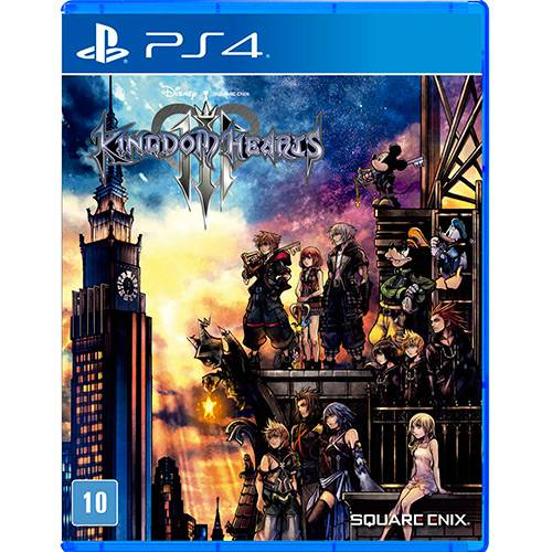 Tudo sobre 'Game Kingdom Hearts III - PS4'