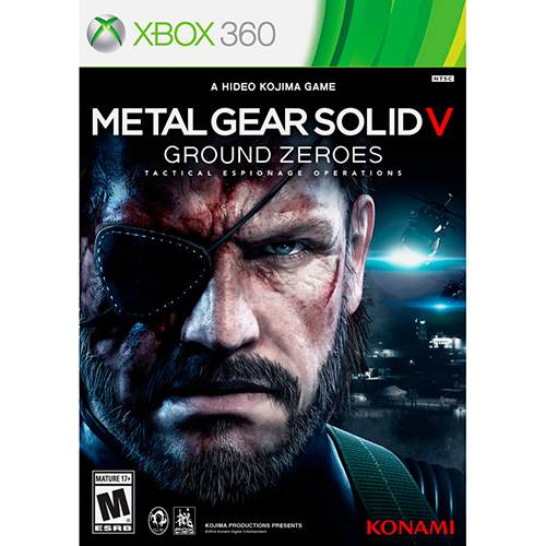 Tudo sobre 'Game Metal Gear Solid V: Ground Zeroes - X360'