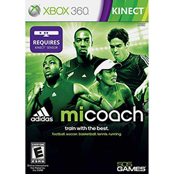 Tudo sobre 'Game Micoach By Adidas For Kinect - Xbox 360'
