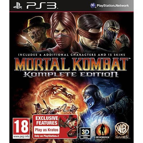 Tudo sobre 'Game Mortal Kombat - Komplete Edition BR - PS3'