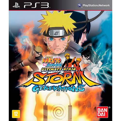 Tudo sobre 'Game Naruto Shippuden: Ultimate Ninja Storm Generations - PS3'