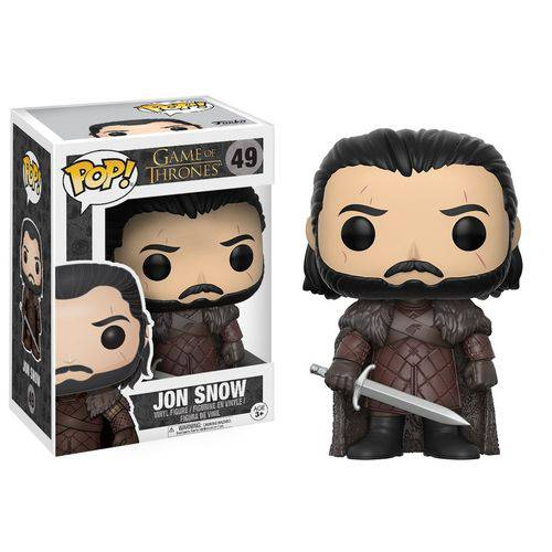 Tudo sobre 'Game Of Thrones - Boneco Pop Funko Jon Snow 49'