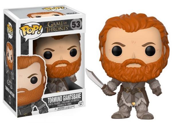 Game Of Thrones Tormund Giantsbane - Funko Pop