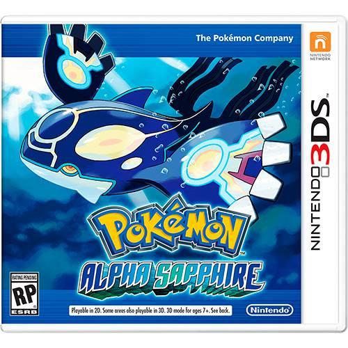 Tudo sobre 'Game - Pokémon Alpha Sapphire - 3DS'