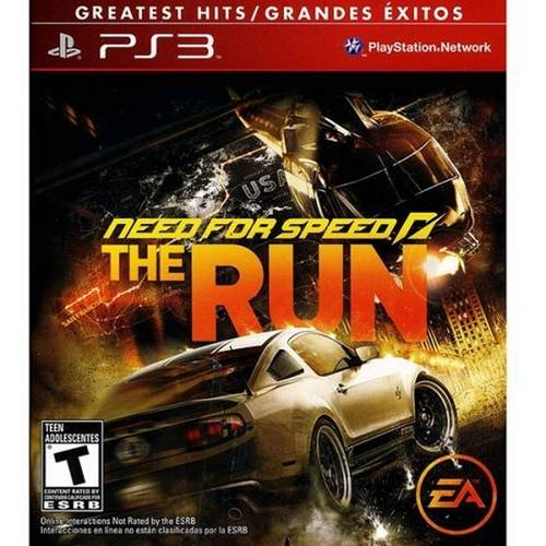 Tudo sobre 'Game Ps3 Need For Speed The Run'