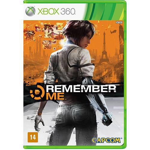 Tudo sobre 'Game Remember me - XBOX 360'