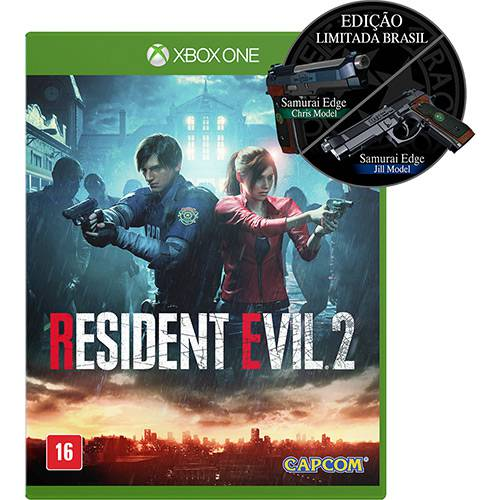 Game Resident Evil 2 Ed. Limitada Br - XBOX ONE