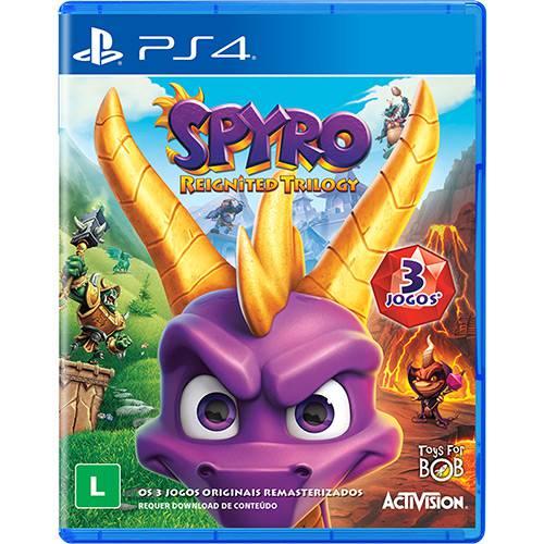 Tudo sobre 'Game Spyro Reignited Trilogy - PS4'