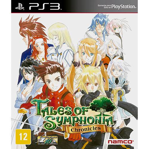 Tudo sobre 'Game - Tales Of Symphonia Chronicles - PS3'