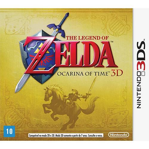 Tudo sobre 'Game The Legend Of Zelda: Ocarina Of Time - Nintendo 3D'