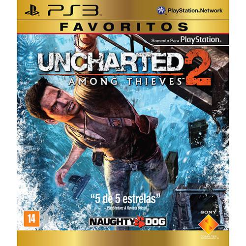 Tudo sobre 'Game Uncharted 2: Among Thieves - Favoritos - PS3'