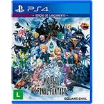 Tudo sobre 'Game World Of Final Fantasy - PS4'