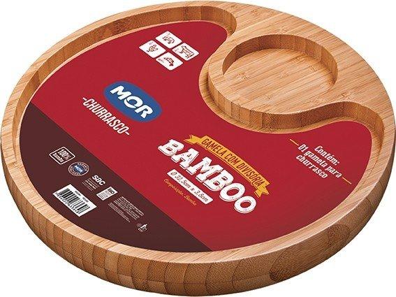 Gamela Bamboo com Divisória MOR
