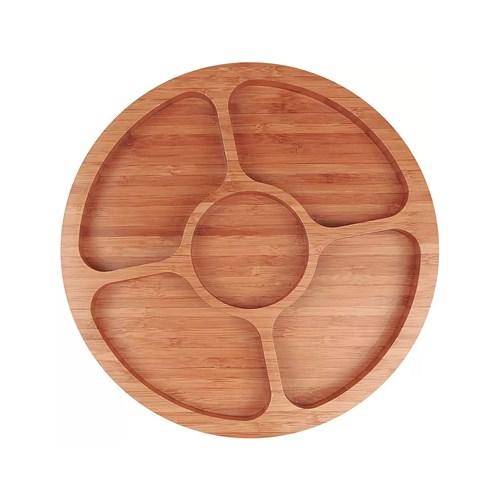 Gamela Mor 3365 com 5 Divisórias Bamboo