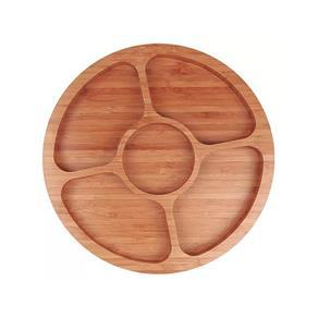 Gamela MOR Bamboo com 5 Divisórias