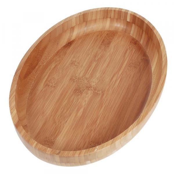 Gamela Oval Bamboo 41cm X 27cm - Mor