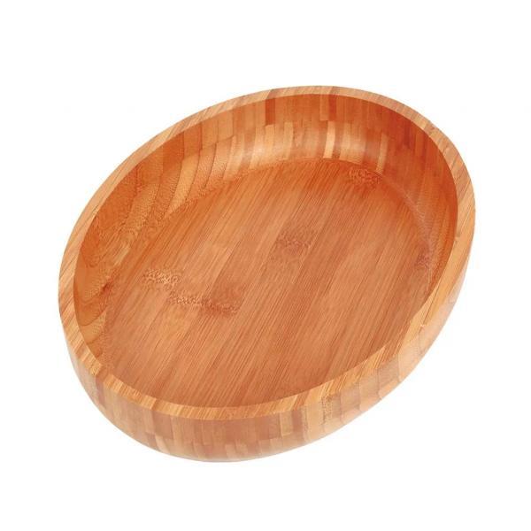Gamela Oval Bamboo 33X23cm - Mor