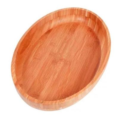 Gamela Oval de Madeira Bamboo Mor - 41 X 27
