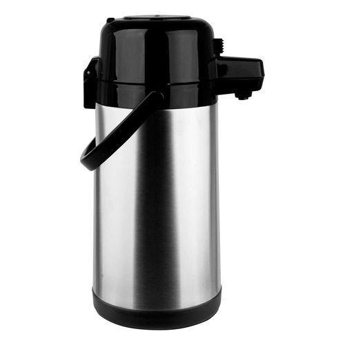 Garrafa Térmica Aço-inox Pressão 2,5l Termopro - Inox