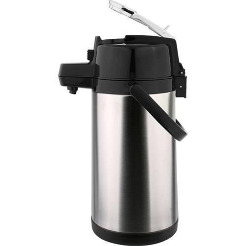 Garrafa Térmica Aço Inox Pressão 2,5l Termopro-mix