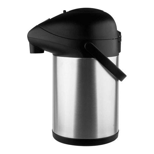 Garrafa Térmica Aço-inox Pressão Trix 3,5l Termopro - Inox