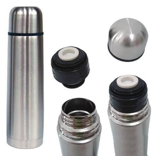 Garrafa Termica Inox 750 Ml Inquebravel