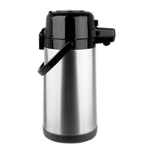 Garrafa Térmica Marcamix Aço Inox Pressão 1,9l Tp6506