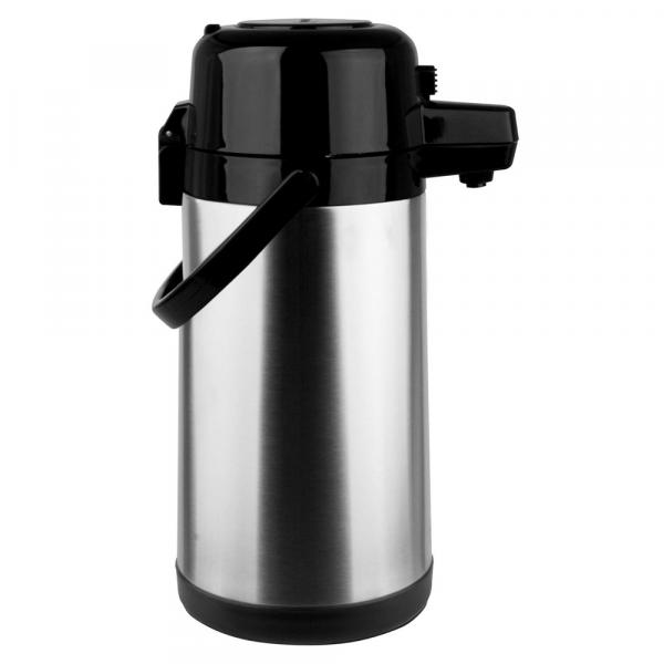 Garrafa Térmica Pressão Inox 2,5 Litros Termopro