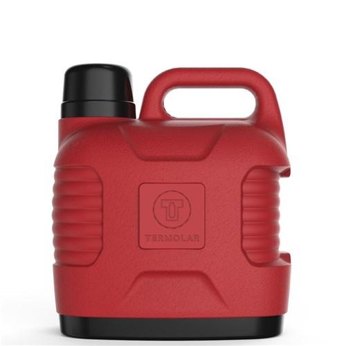 Garrafa Térmica Supertermo Termolar 5 Litros Vermelha