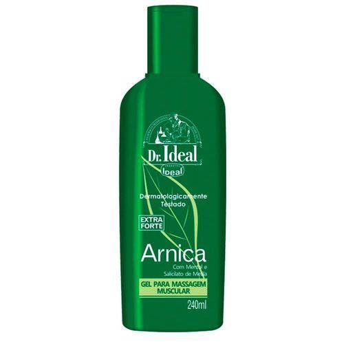 Gel de Arnica Extra Forte para Massagem Muscular Dr. Ideal (240ml) - Ideal