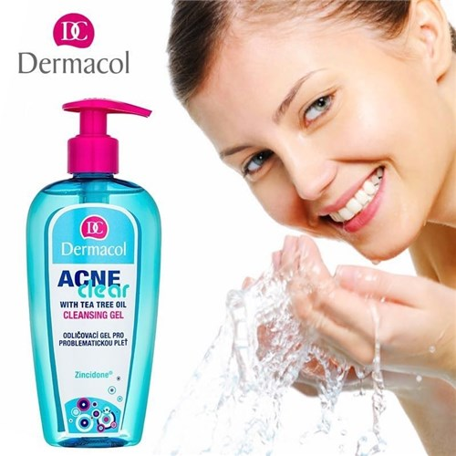 Gel de Limpeza Facial Anti-Acne Cleansing Gel Dermacol 200mL