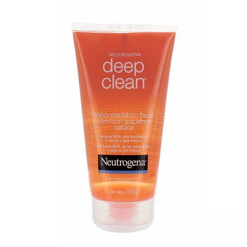 Gel de Limpeza Neutrogena Deep Clean Grapefruit com 150g