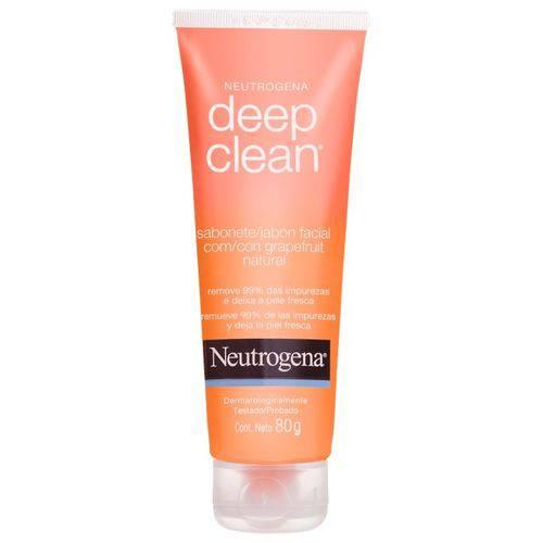 Gel Limpeza Neutrogena Deep Clean Grapefruit 80g